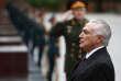 Le président brésilien Michel Temer, à Moscou, le 21 juin.