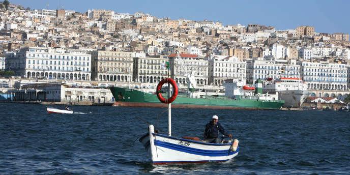 La baie d'Alger, en juillet 2007.