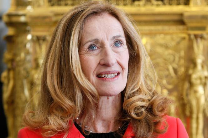 Nicole Belloubet, à l'Elysée, le 14 mars 2013.