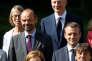 Emmanuel Macron et Edouard Philippe, à l'Elysée, le 22 juin.