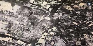 La mosquée d'Al-Nouri a été détruite le 21 juin 2017.