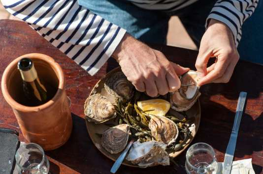 Dégustation d'huîtres de Cancale.