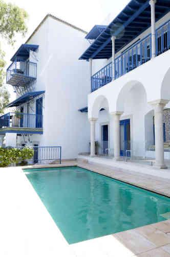 Chambres d'hôtes La Villa bleue.