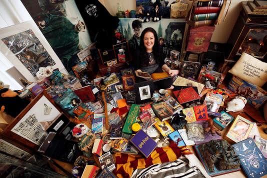 Une fan de «Harry Potter» au Royaume-Uni.