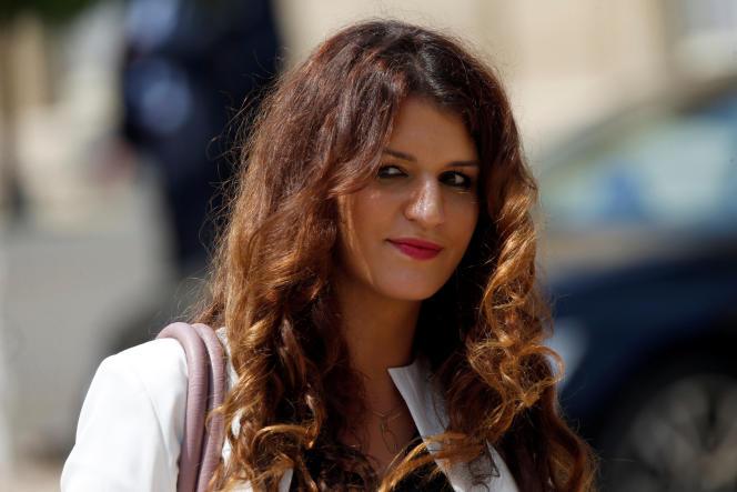 Marlène Schiappa, à l'Elysée, le 22juin 2017.
