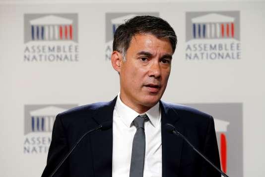 Le député PS Olivier Faure.