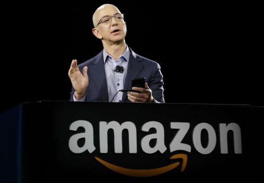 Jeff Bezos, le fondateur et PDG d'Amazon, en 2014.