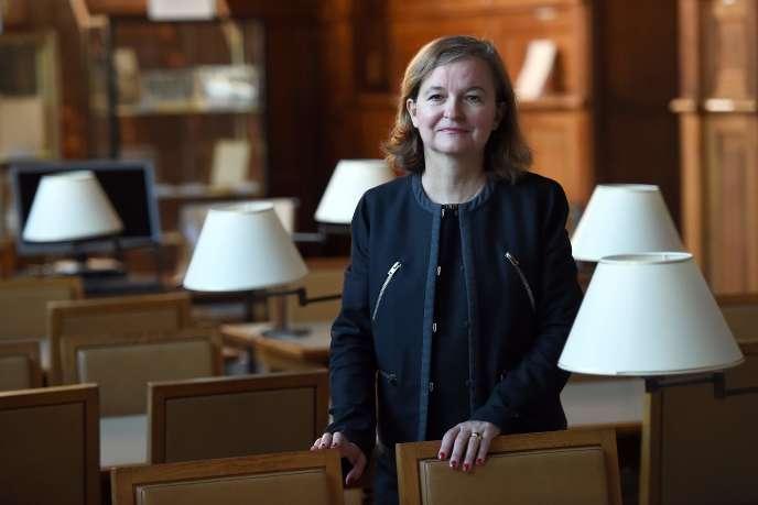 Nathalie Loiseau, nouvelle ministre chargée des affaires européennes, en septembre 2015, à Paris.