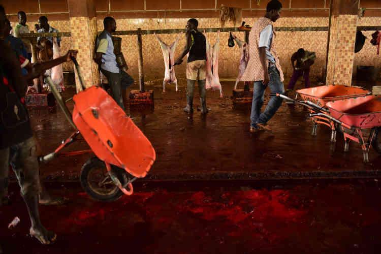 Les abattoirs de Maiduguri ont été visés par une bombe en 2015. L'équipe qui travaille là a sans doute été infiltrée par des membres de Boko Haram.
