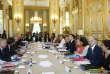 Premier conseil des ministres du gouvernement Edouard Philippe 2, à l'Elysée, le22juin.