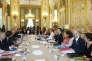 Premier conseil des ministres du gouvernement Edouard Philippe 2, au palais de l'Elysée, le 22 juin.