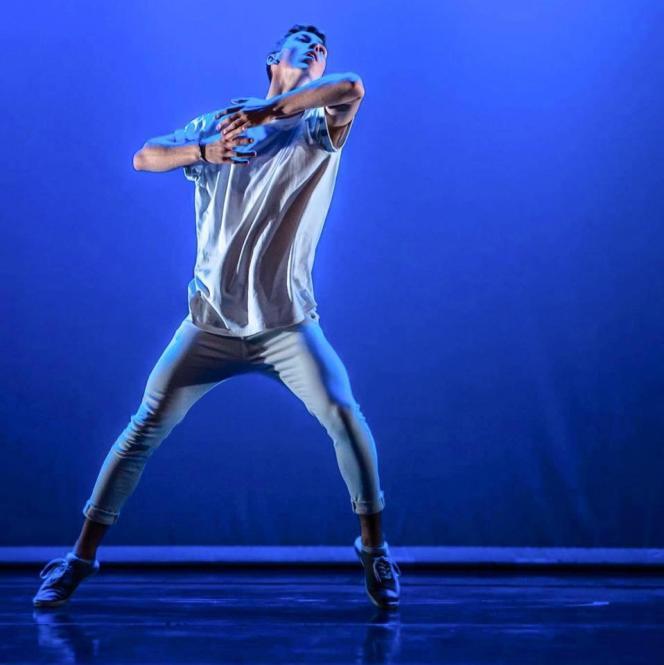 Le danseur Jordan Boury.