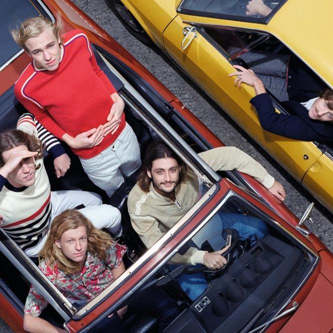 Le quintet australien Parcels.