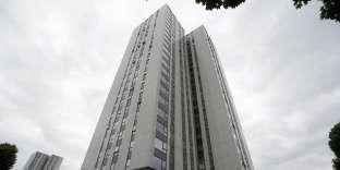 La tour résidentielle de Burnham, dans le quartier de Camden à Londres, le 22 juin 201è.