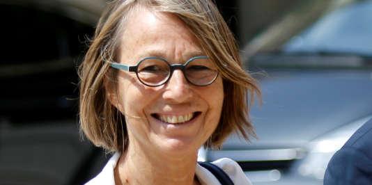 Françoise Nyssen en juin.