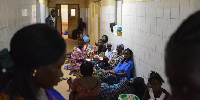 Un hôpital à Ouagadougou, au Burkina Faso, en novembre 2016.