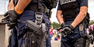 Des policiers, le 13 septembre, dans le nord de la France (photo d'illustration).