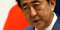 FILE PHOTO : Japan's Prime Minister Shinzo Abe attends a news conference after close of regular parliament session at his official residence in Tokyo, Japan, June 19, 2017. REUTERS/Toru Hanai/File Photo