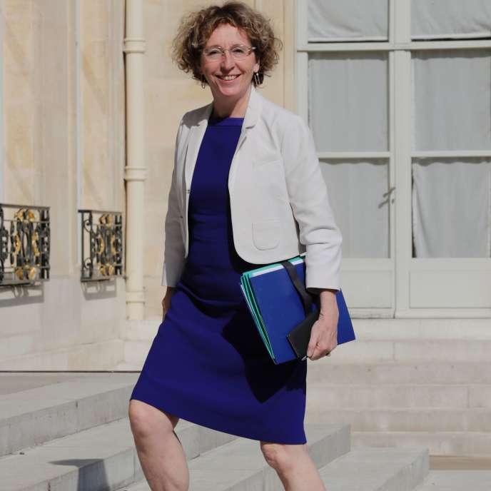 « La liberté dans le travail moderne, au bureau, à l'usine ou ailleurs, c'est devenu le pouvoir effectif de prendre ses responsabilités dans ce qu'on fait » (Photo: la ministre du travail, Muriel Pénicaud, le 22 juin à l'Elysée).