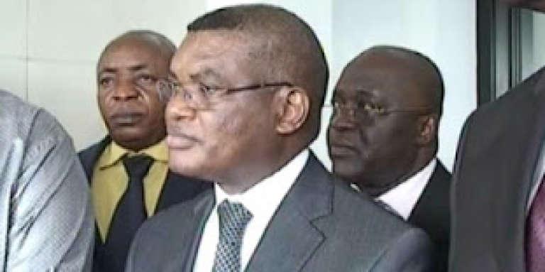 L'une des rares images (capture d'écran)du Congolais Kalev Mutond, directeur de la redoutée Agence nationale de renseigement (ANR) de Kinshasa.