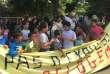 Manifestation, le 21 juin, des habitants de la cité de l'Air menacés d'expulsion.