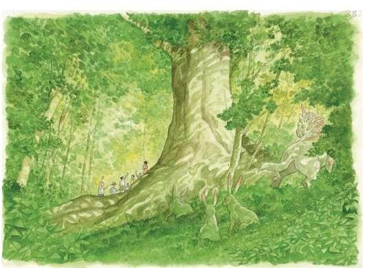 La Forêt millénaire, de Jiro Taniguchi