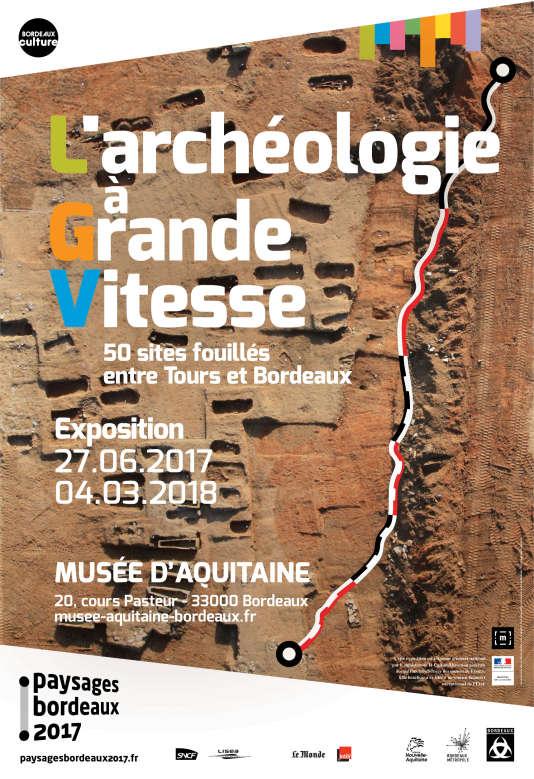 L'exposition« L'archéologieà Grande Vitesse» présente les découvertes lors du chantier de la LGV.
