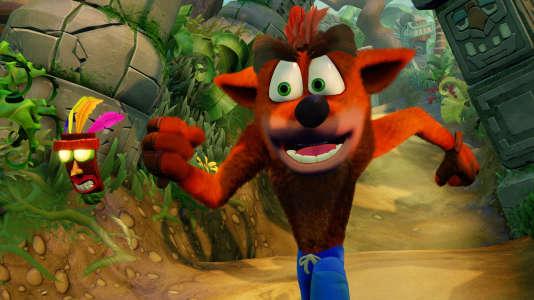 Crash Bandicoot dans «Crash Bandicoot N Sane Trilogy», sur PlayStation 4.