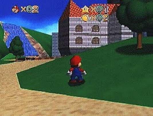 A l'été 1995, Nintendo dévoile les premières images de son jeu de plate-forme en 3D, «Super Mario 64», qui doit sortir un an et demi plus tard.