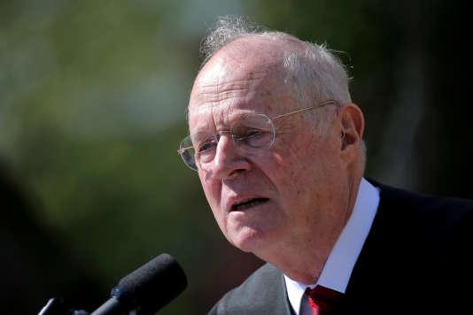 En cas de départ du juge Kennedy – ici le 10 avril 2017–, Donald Trump aura une nouvelle occasion d'imprimer sa marque en nommant à vie un deuxième juge conservateur.