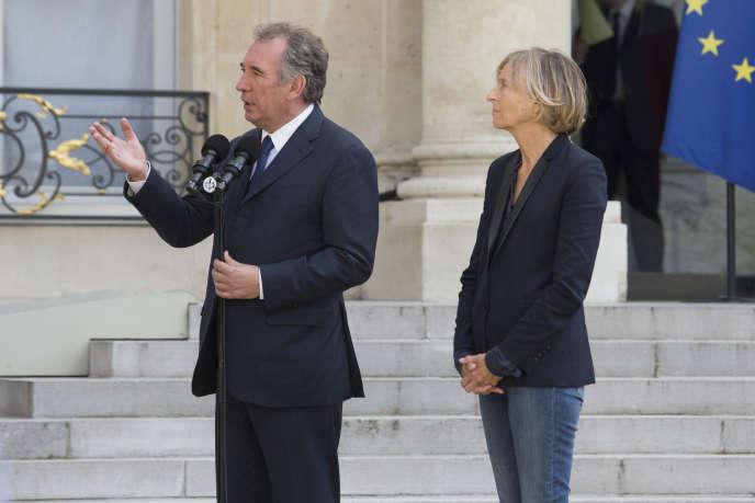 Ni François Bayrou ni Marielle de Sarnez, ex-ministre des affaires européennes, n'ont été entendus par la justice pour le moment.