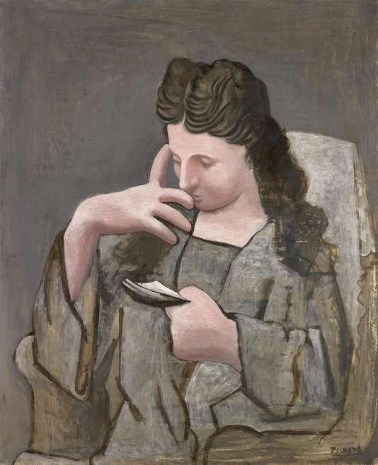 « Femme lisant» (1920), huile sur toile de Pablo Picasso.