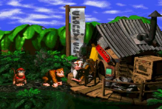 «Donkey Kong Country», plus grand succès de l'année 1994, sert de référence aux concepteurs de «Crash Bandicoot».