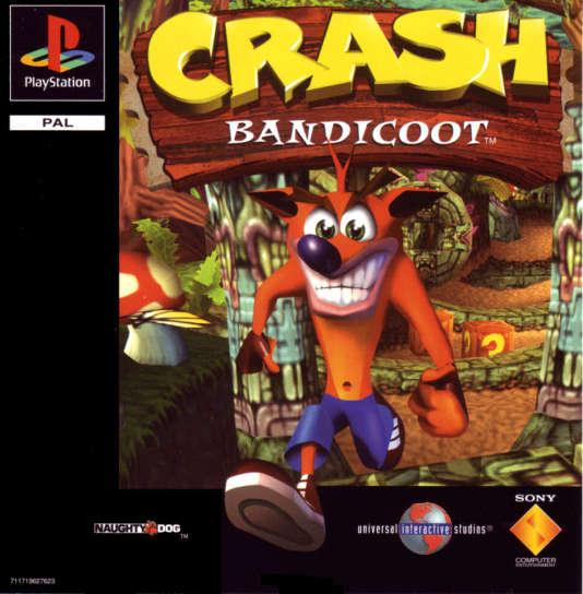 Crash Bandicoot sur PlayStation 1, tel qu'en lui-même.