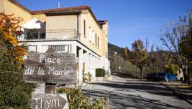 Le village de Pennes-le-Sec, dans la Drôme.