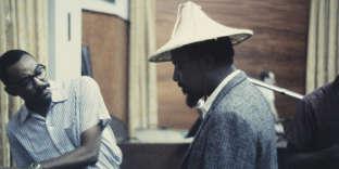 Thelonious Monk lors de l'enregistrement de la bande originale du film«Les Liaisons dangereuses 1960».