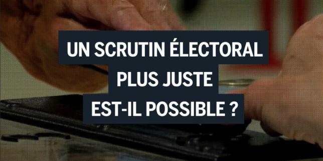 Depuis le début des années 2000, en France, des chercheurs planchent sur des modes de vote alternatif qui pourraient mieux refléter la complexité des opinions politiques.