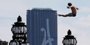 Le 23 juin 2017 à Paris, lors de la journée internationale olympique.