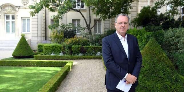 Richard Ferrand à l'Assemblée nationale, le 23 juin. Le député du Finistère devrait être désigné à la tête du groupe LRM.