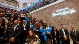 Le 15 octobre 2015, à Madrid, à l'occasion de l'inauguration de la boutique Primark de la Gran Via.