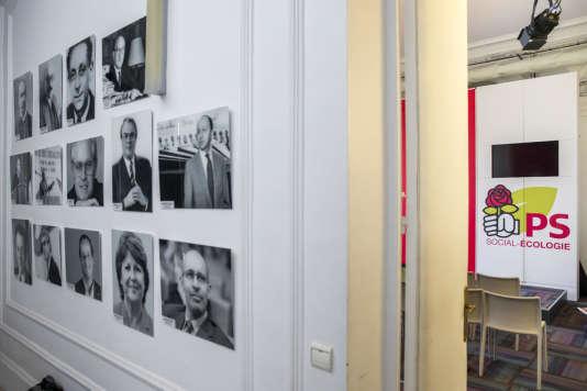 Après le Conseil national du Parti socialiste, au siège de la rue de Solférino à Paris, samedi 24 juin 2017 - 2017©Jean-Claude Coutausse / french-politics pour Le Monde