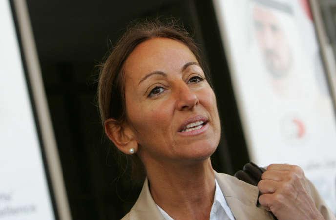 Véronique Robert, le 12 décembre 2007, à Dubaï.