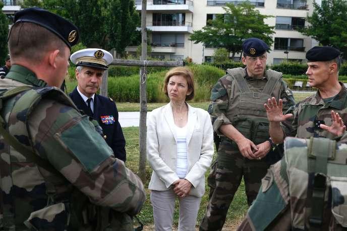 Florence Parly , le 24 juin à Paris.