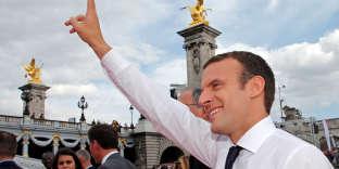 Emmanuel Macron, le 24 juin à Paris.