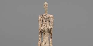«Woman of Venice V»(1956), plâtre peint. Collection Fondation Alberto et Annette Giacometti, Paris.