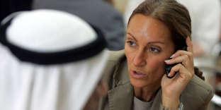 Véronique Robert, en décembre 2007, à Dubaï.