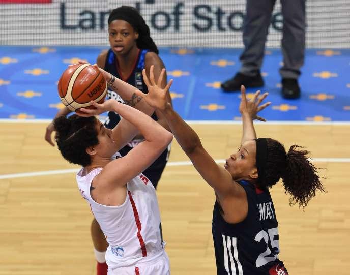 Finale France/Espagne au basket féminin le 25 juin à Prague.