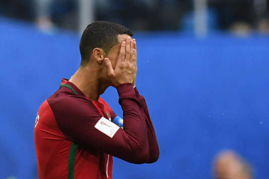 La star portugaise Cristiano Ronaldo, le 24 juin.