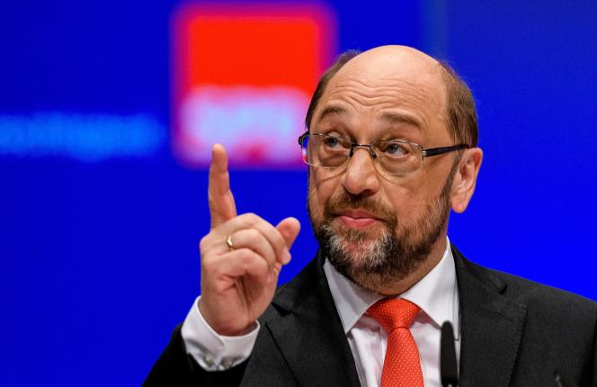 Martin Schulz à Dortmund, le 25 juin.