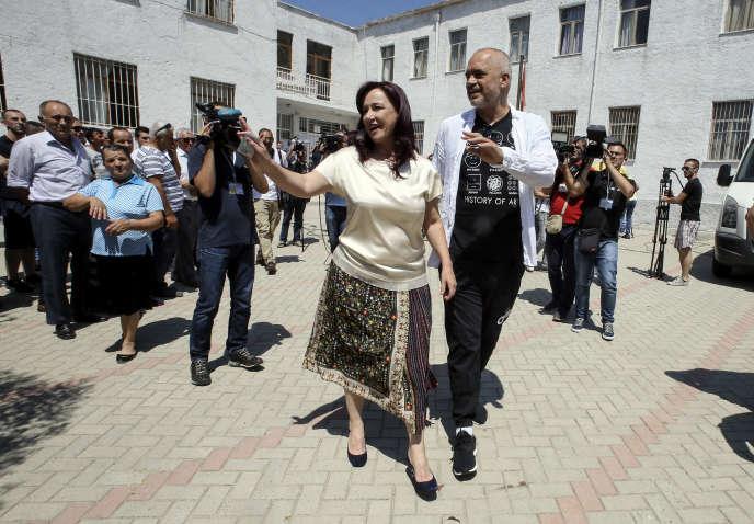 Le premier ministre albanais Edi Rama, le 25 juin à Tirana.